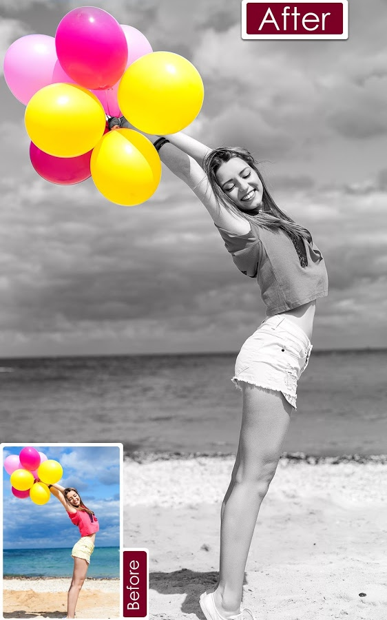 Color pop effects black white photo editor gudang game android apptoko