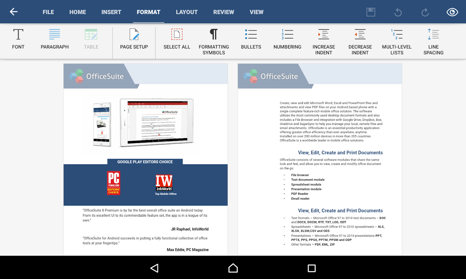 OfficeSuite Pro + PDF (Trial) - gudang game android apptoko
