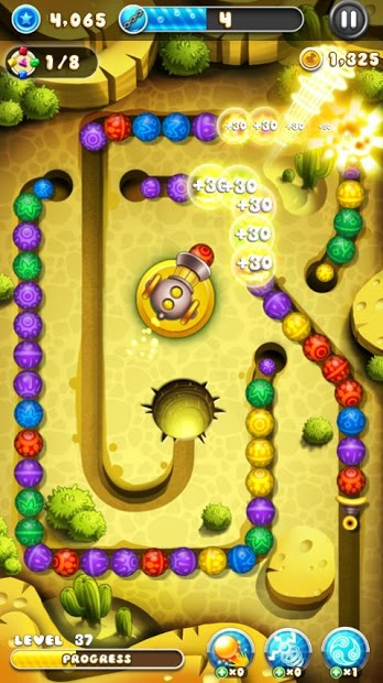Download Game Android Marble Blast Saga